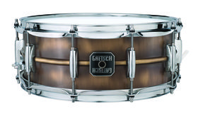 Musikmesse 2012: Gretsch adds Brushed Brass to its snare drum line