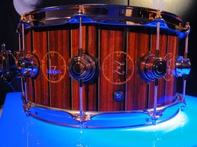 NAMM 2014: Drum Workshop booth in pictures