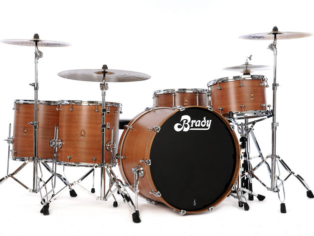 Brady Spotted Gum drum kit