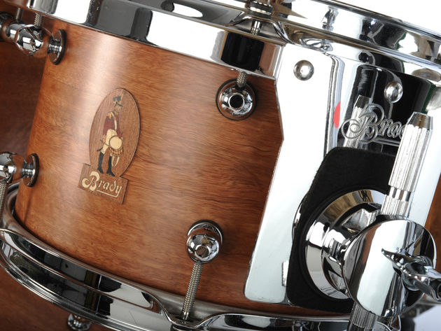 Brady Spotted Gum snare drum