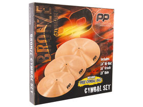 PP Drums unveils new Bronze Cymbal Pack
