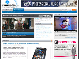 Dedicated Roland Channel revamped and relaunched
