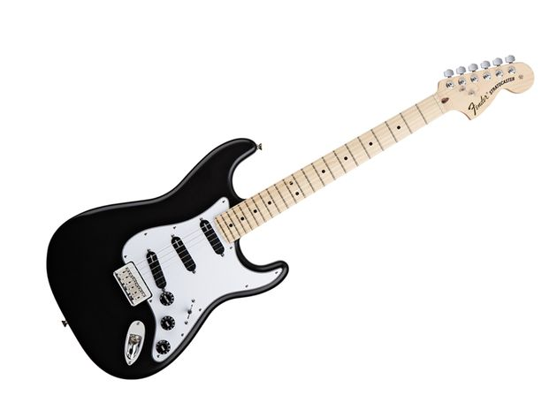 Fender Billy Corgan Stratocaster, black
