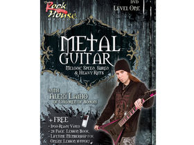 Two new Alexi Laiho instructional DVDs from Rock House