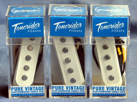 Tonerider puts out Strat pickups for lefties