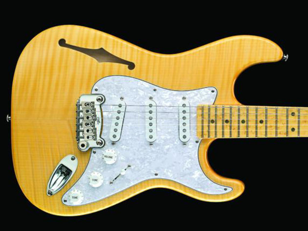 Give your sound some extra air with new semi-hollow G&L electrics