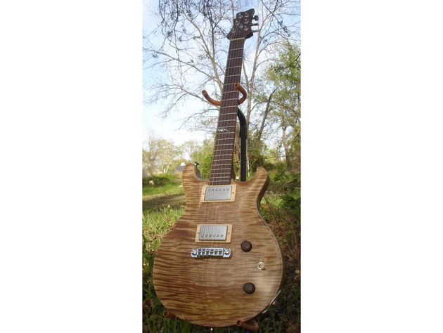 All Schroeder guitars are handmade