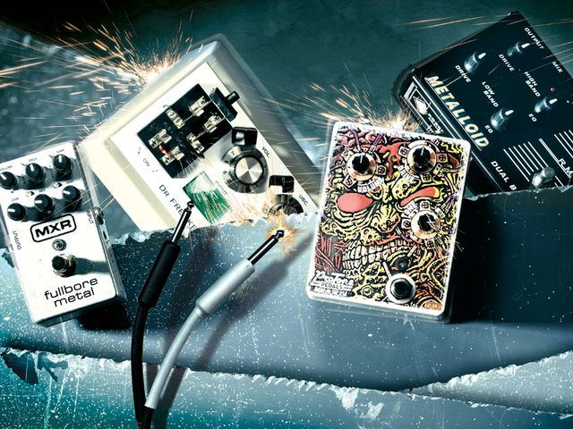 4 filthy guitar distortion pedals