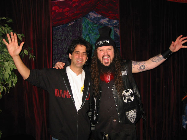 Dean and Dime in happier times