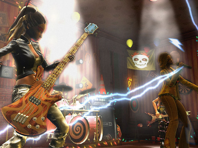 Guitar Hero World Tour features numerous 'real' products