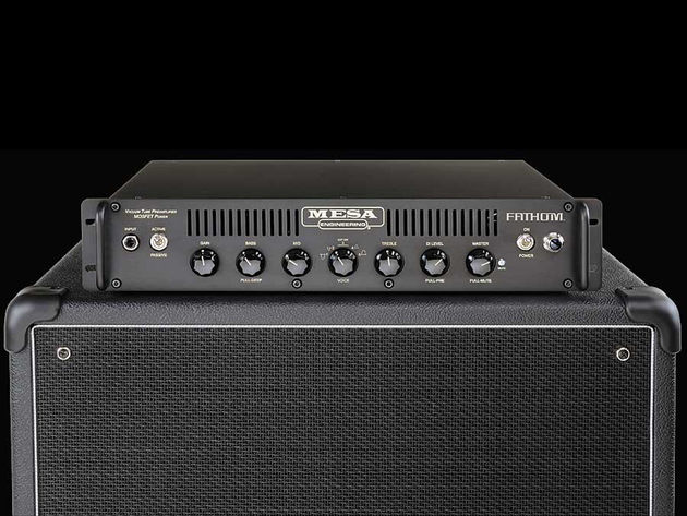 Mesa/Boogie's new Fathom amp is powered by 8 MOSFET transistors