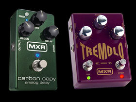 New analogue delay and tremolo pedals from MXR