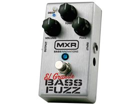 MXR bass fuzz pedal promises more low-end