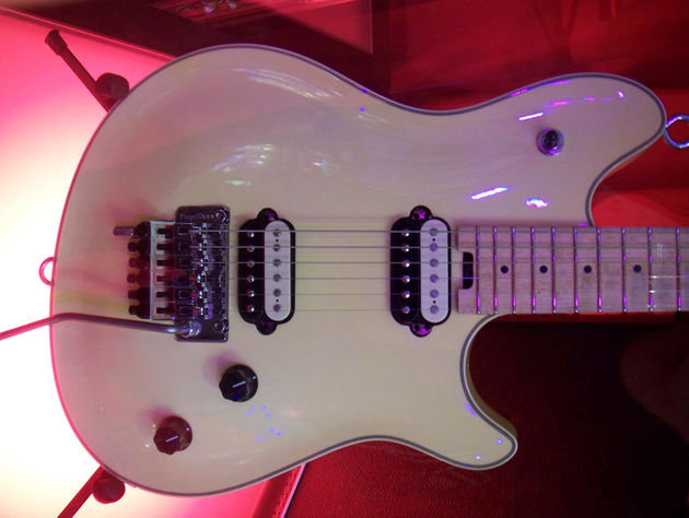 The new prototype recalls previous Peavey and Music Man signature outlines