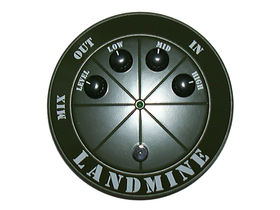 The Landmine distortion pedal