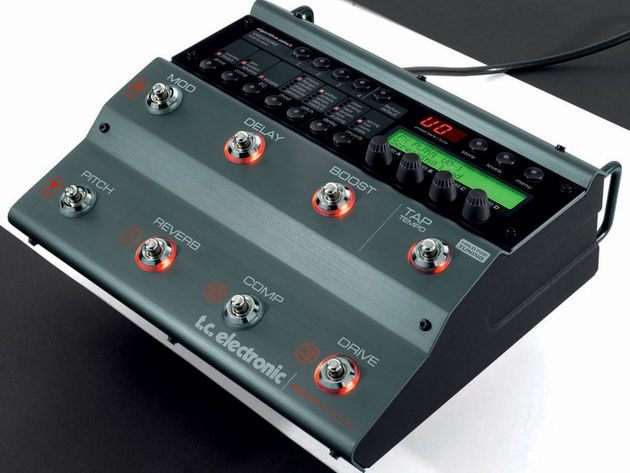 A one-stop floor processor for guitarists