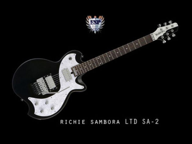 The new ESP Sambora signature model