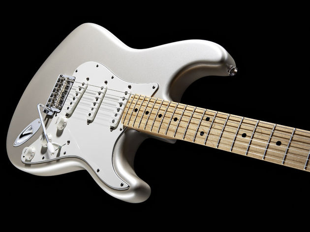 The new American Standard Stratocaster in Blizzard Pearl