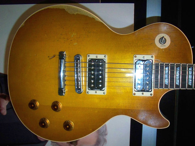 The new Slash Les Paul