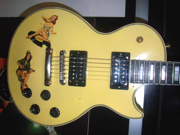 The Steve Jones Les Paul Custom
