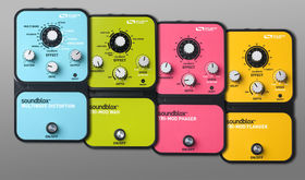 New Soundblox pedals offer unique sounds