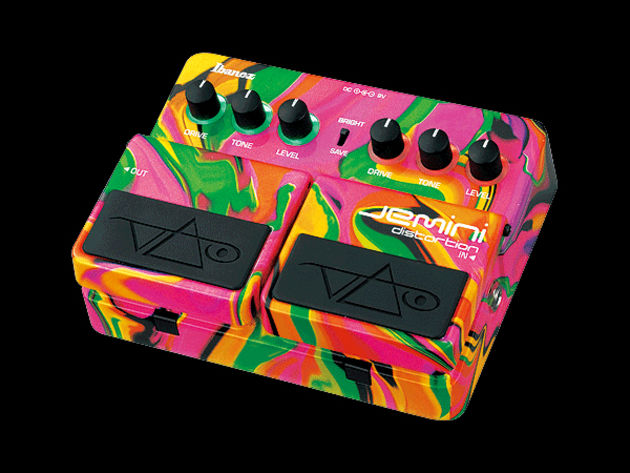 The new Ibanez Jemini sports a finish that is eye-catching to say the least