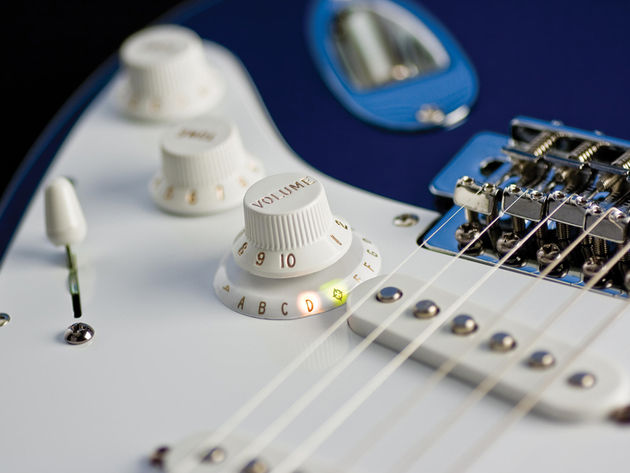 N-Tune's new chromatic tuner comes with Gibson or Fender-style fittings