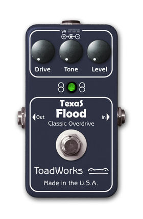 New Stevie Ray Vaughan-inspired overdrive
