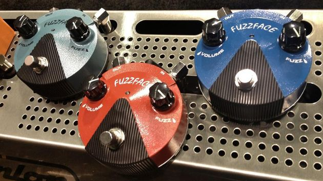 Fuzzy logic: the new Fuzz Face Mini will take up less space on your 'board
