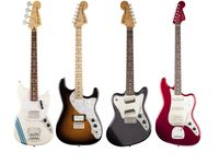 VIDEO: Fender Pawn Shop Bass VI, Mustang Bass, Super-Sonic & '70s Stratocaster Deluxe demo