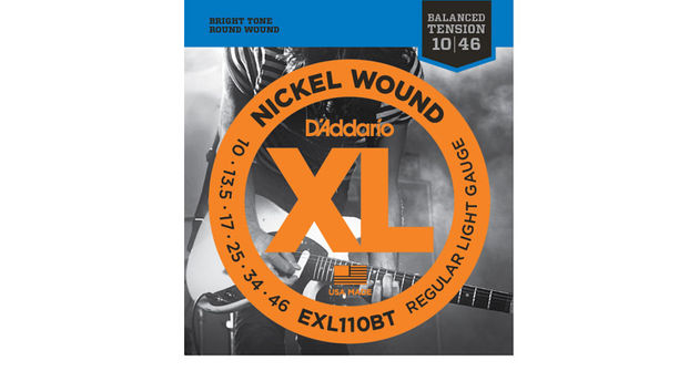 XL Nickel Wound Balanced Tension strings will be available for both guitar and bass