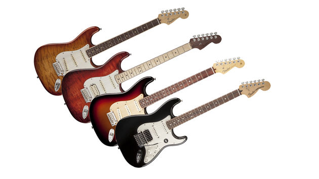 Fender reveals four new strats