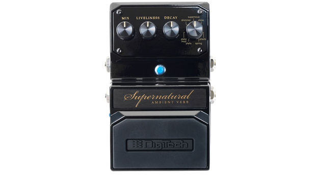 There are a total of seven different reverbs contained in DigiTech's latest compact pedal
