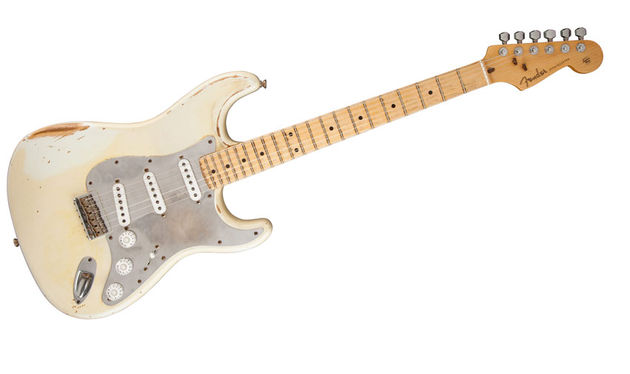 The Hitmaker Strat is known for its light weight and well-worn finish