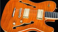 NAMM 2014: Fender Custom Shop introduces the Faded Tennessee Orange Hollow-Body Tele