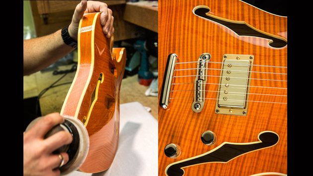 The Faded Tennessee Orange finish is an eye-catcher, we'll give it that.