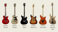 NAMM 2014: Electra Guitars adds Invicta, Phoenix and Talon series