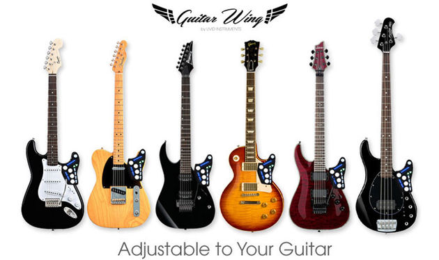 It's been designed to work with lots of different styles of guitar