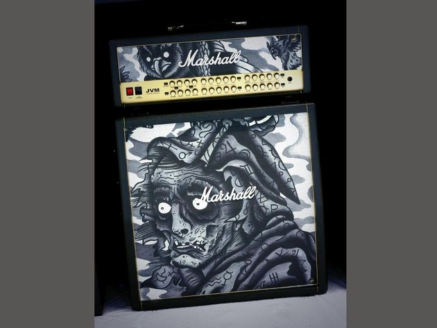 Marshall Custom Shop Tattoo Amp