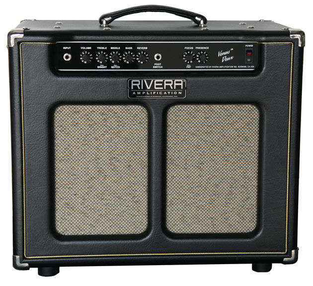 Rivera's new pedal-friendly Venus Duex
