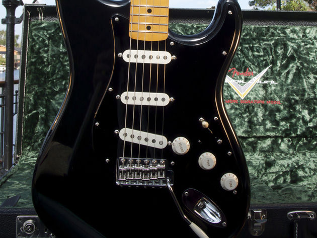 The Black Strat is out in September