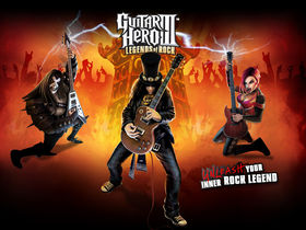 Satriani, Vai and Buckethead join Guitar Hero III: Legends Of Rock