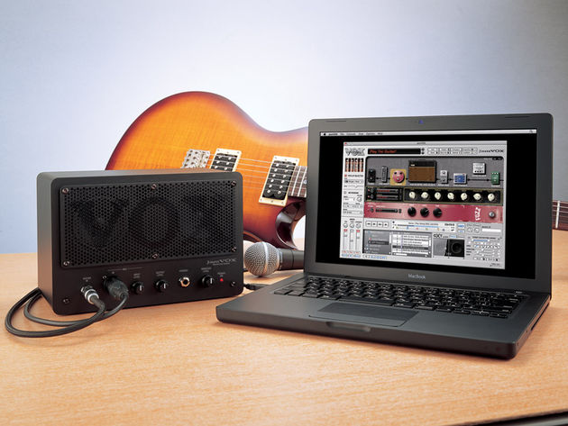 The JamVOX monitor also doubles as a USB audio interface