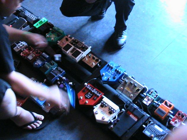 The world's largest pedalboard in the making