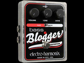 EHX debuts Bass Blogger distortion pedal