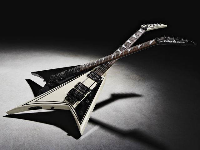 Two options on the Jackson RR5FR Rhoads
