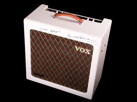 Vox amp signed by Paul McCartney raises £3900 for charity
