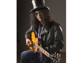Send Slash a video message...you might win his signature model Les Paul