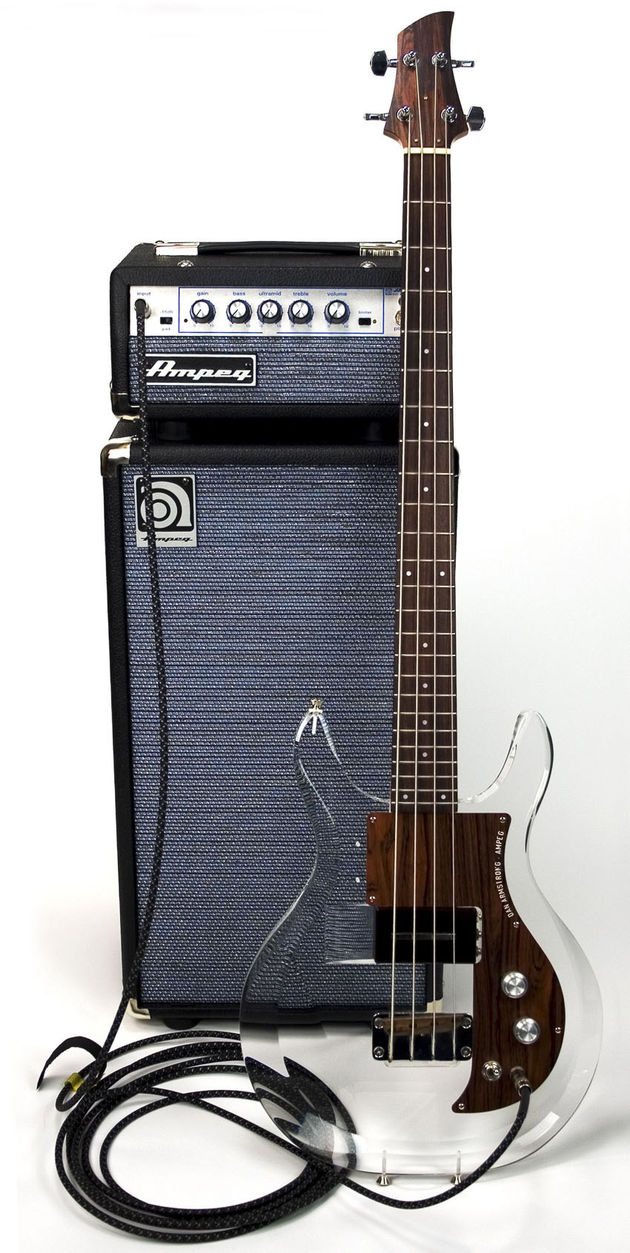 Probably the coolest-looking bass rig in the world...