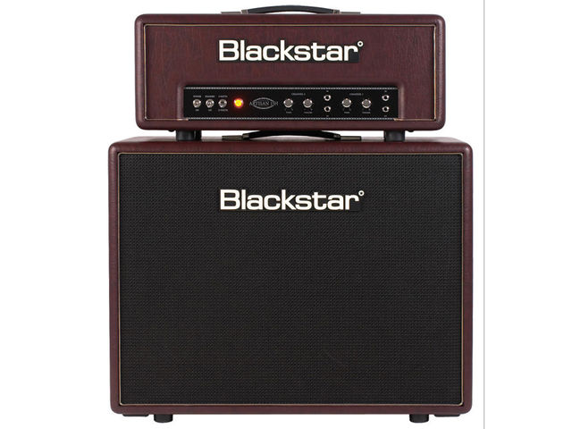 The Blackstar Artisan 15H head with 2x12 cabinet